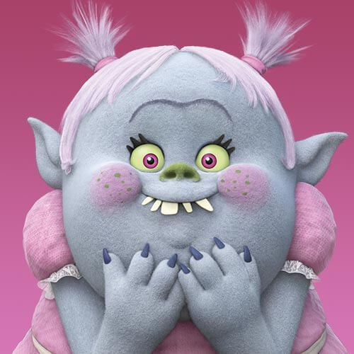 Juguetes trolls Bergen Bridget