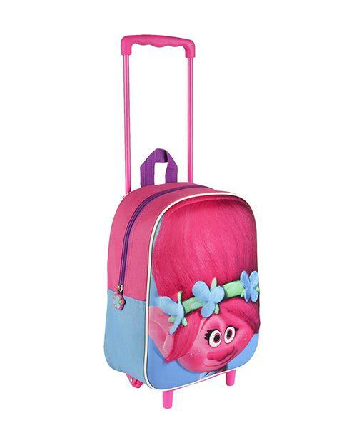 mochilas trolls trolley escolar